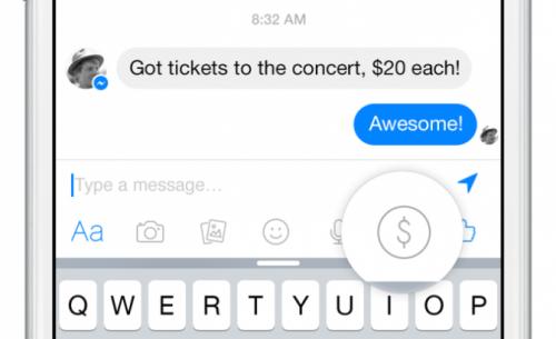 Facebook запустил систему перевода денег прямо в сообщениях