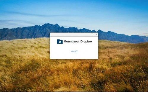 Dropbox теперь можно монтировать в проводнике Chrome OS