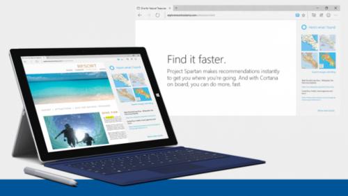 Вышла первая тестовая версия нового браузера Microsoft Project Spartan