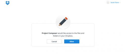 Dropbox разрабатывает конкурента Google Docs и Evernote