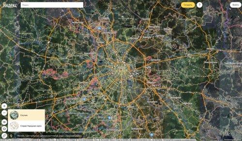«Яндекс.Карты» получили новый интерфейс и интеграцию с «Народной картой»