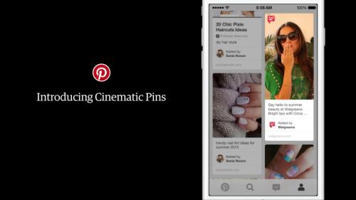 Pinterest запускает видеорекламу