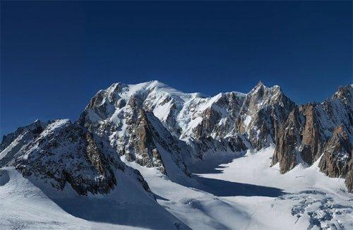 365-гигапиксельная панорама горы Монблан
