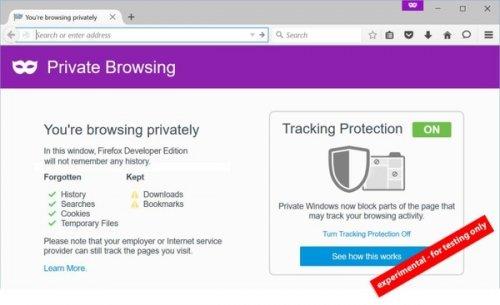 Mozilla тестирует ещё более безопасный режим «инкогнито» в Firefox