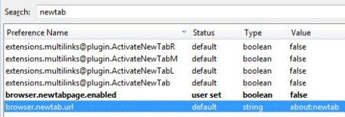 В Firefox запретили вирусам менять новую вкладку