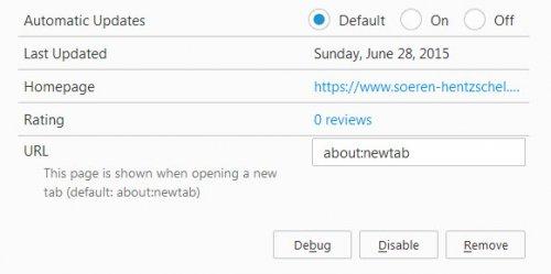 Изменения в Firefox 41