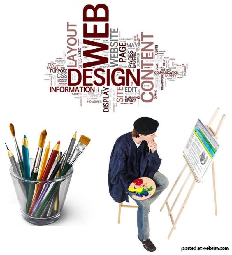 Разработка качественного дизайна сайта