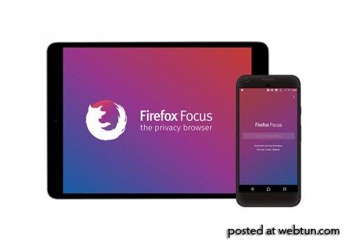 Вышла новая версия приватного мобильного браузера Firefox Focus